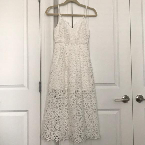 Astr Dresses & Skirts - White Lace Dress